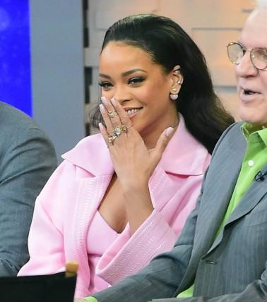 Rihanna, Steve Martin and Jim Parsons Promote 'Home' on 'Good Morning America'